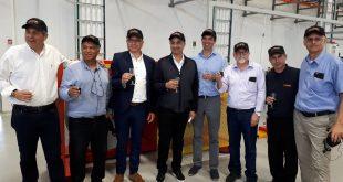 מרימים כוסיות להצלחת המפעל החדש בבית שאן