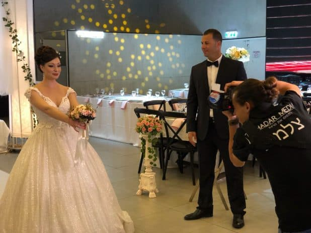 קובי ויפית מתחתנים (צילום הדר מדיה)