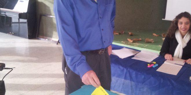 רון שני מצביע צילום אלכס הובר