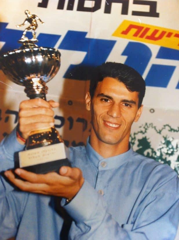 הוכתר ב- 95-96. שמעון דנן (צילום דימיטרי זוזוליה)