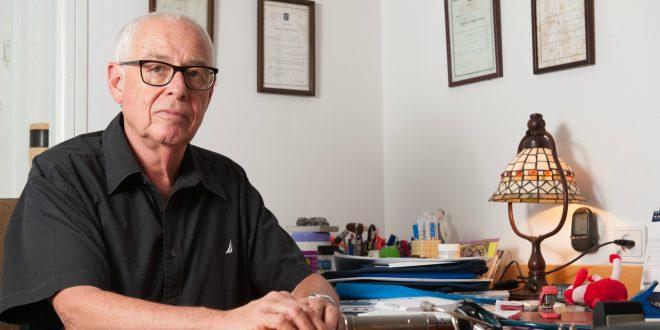 """ד""""ר ראובן פולק (צילום; דורון גולן"""