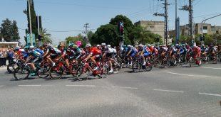מרוץ ג'ירו איטליה עובר בצומת אפק צילום: אורטל אזולאי