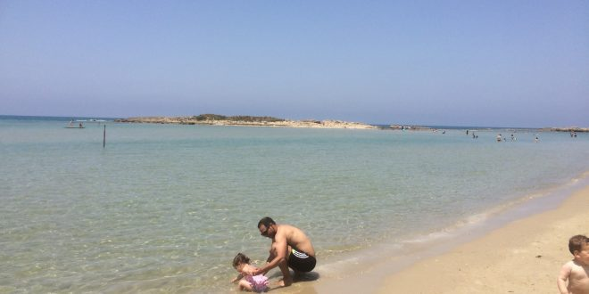 חוף דור (צילום: נירית שפאץ)