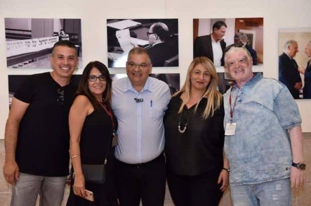 הבוסקילות עם ראש העיר אלי ברדה (צילום עצמי)