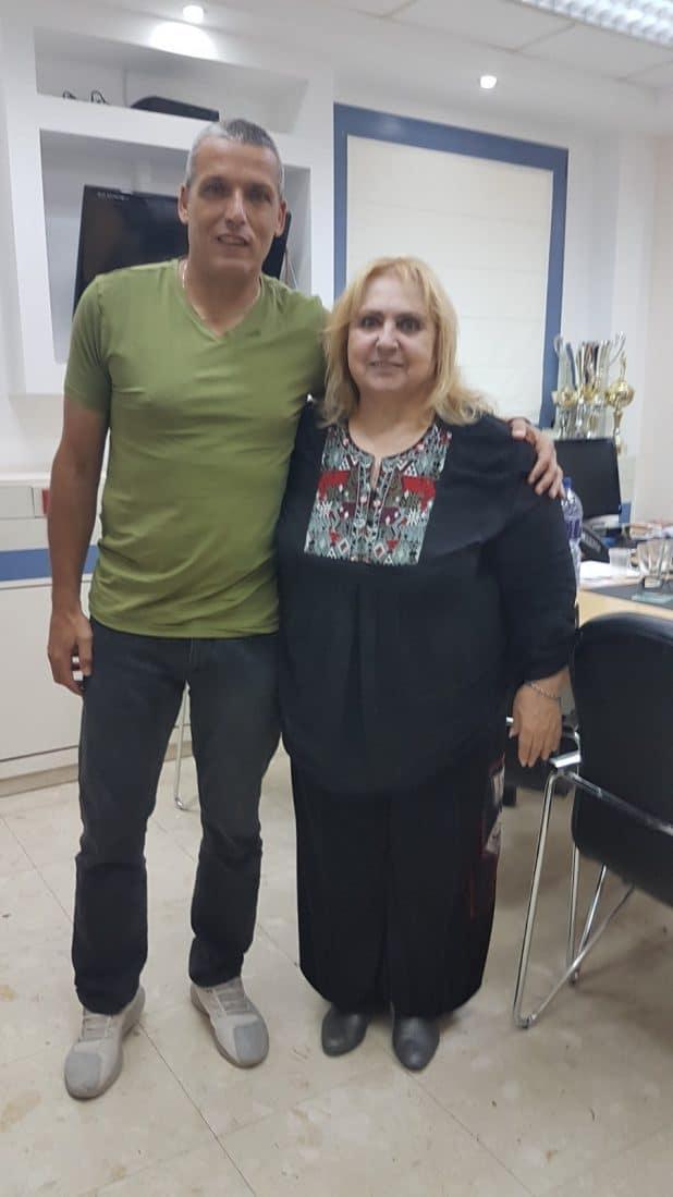 רינה גרינברג ופיני אברהם - צילום אבי קוריאט
