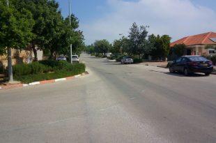 הרחוב בו צפוי לקום ההוסטל. גבעת עדן (צילום: ירון ניר)