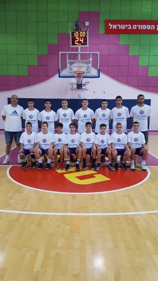 ילדים לאומית של המאמן אורן בן חמו (צילום: מחלקת הנוער)