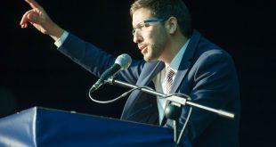 ציקי אבישר מכריז על התמודדות לראשות קרית מוצקין. צילום: דורון גולן