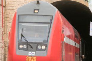 רכבת כרמיאל במנהרות גילון צילום אלכס הובר