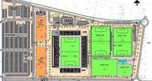 תוכנית האצטדיון בחדרה הדמיה באדיבות עיריית חדרה