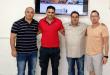 מאמן חדש לסקציה מעלות. עבאס סוואן מתקבל על ידי לסרי, בן איבגי וכפיר צילום: באדיבות עידן כפיר