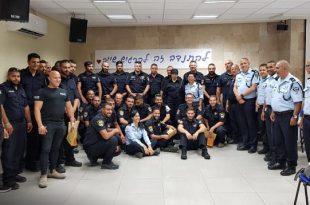 המתנדבים החדשים (צילום דוברות המשטרה)