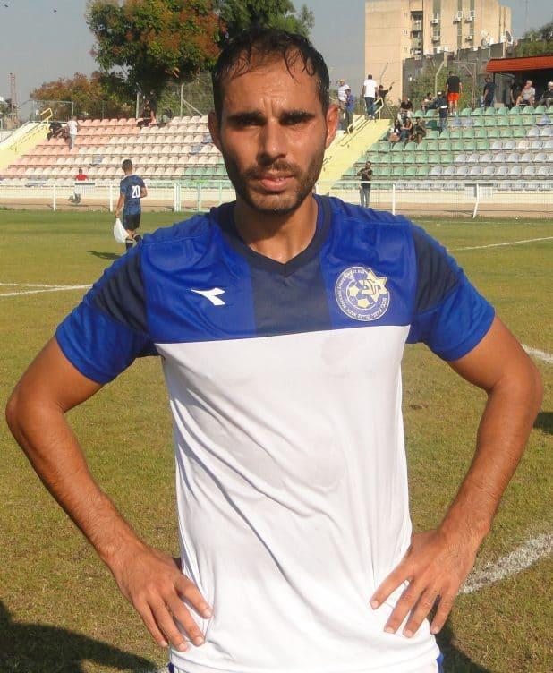 כבש שני שערים במשחקי ההכנה. ליאור דהן צילום: איסר רביץ