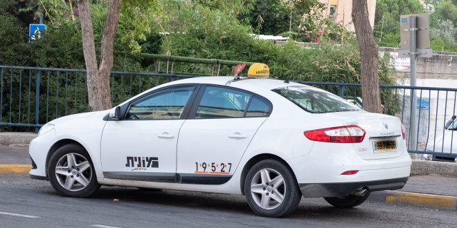 מונית בכרמיאל, צילום אלכס הובר