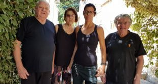 מרסל קאופמן, הילה ברובין, רבקה כהן, זאב קרבציק צילום עליזה רוזן הברמן