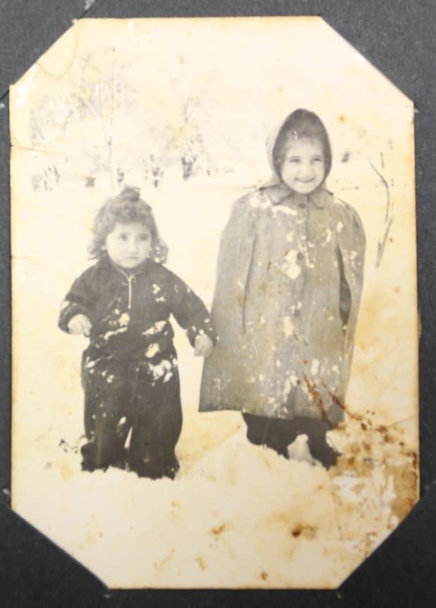 ילדות בשלג בתרשיחא (צילום פרטי)