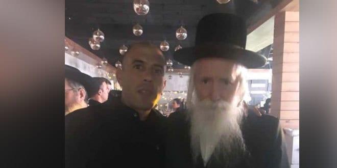 רועי גוטיאן והרב גרוסמן (צילום עצמי)