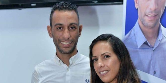 איתי כהן ונעמי הזמי (צילום עצמי)