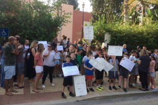 ההפגנה (צילום: נירית שפאץ)