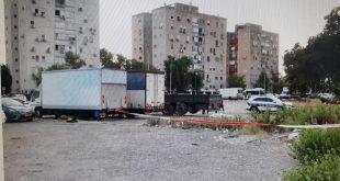 זירת הרצח של מאיר סלומון. צילום: דוברות המשטרה