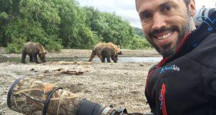 אוהב במיוחד לצלם דובים. רועי גליץ