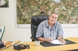ראש המועצה אייל בצר (צילום עצמי)