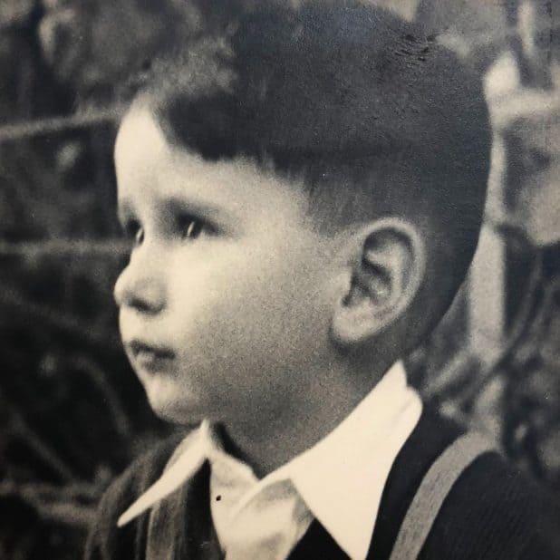 עלם חמודות. יהב בצעירותו צילום: אלבום משפחתי