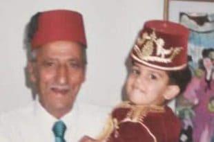 קעטבי בילדותו בזרועות סבא מרדכי