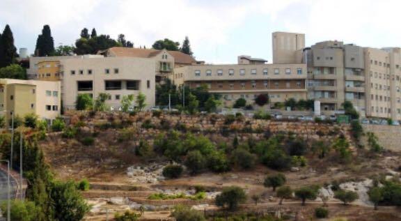 בית חולים אנגלי נצרת (צילום פאוזי עכוואי)