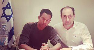 גיף אליאב ודניאל מהרט צילום עצמי