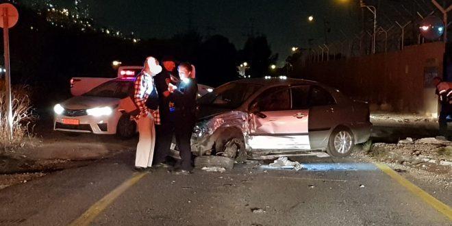 תאונה בכביש 75. צילום: איחוד הצלה כרמל ואשר