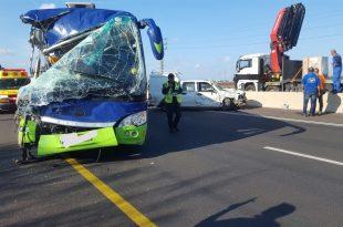 תאונה כביש 75. צילום: איחוד הצלה כרמל ואשר