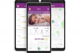 """bosco אפליקציה להורים לשמור על הילדים. צילום: יח""""צ"""