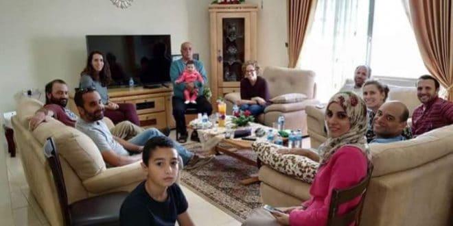 שבת אחים. יהודים לצד ערבים בית משפחת סירחאן (צילום עצמי)