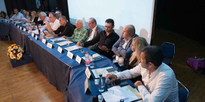 ישיבת מועצת עיר קרית ביאליק. צילום: דורון גולן