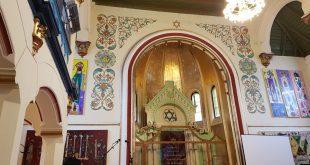 בית הכנסת הנטוש בעיר גרלה, רומניה. צילום: דוברות העירייה