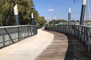 הגשר מעל נחל הגדורה. צילום: דוברות העירייה