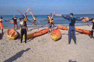 חינוך גופני עם התמחות ימית. צילום: דוברות העירייה