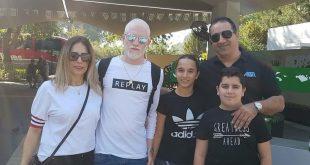 רגע לפני הגיוס. יהב סלמן והמשפחה (צילום עצמי)