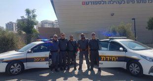 צוות השיטור העירוני (צילום עצמי)