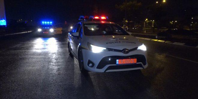 פעילות משטרתית. צילום: דוברות המשטרה