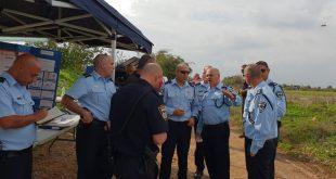 החיפושים אחר הנעדר. צילום: משטרת ישראל