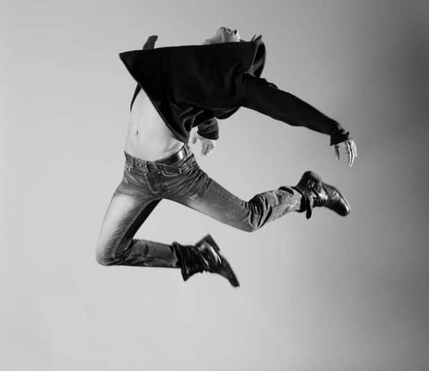 """ריקוד זה לא רק חוג במתנ""""ס. אלון דוידובסקי צילום: יגאל פליקס"""
