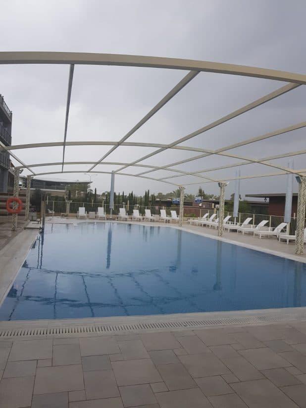 מלון אקוודוקט ברגבה (צילום: רותם כבסה)
