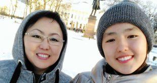 אילונה ונסטיה קוזניצוב בסיביר (צילום עצמי)