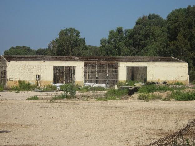 הצריפים במחנה כורדאני