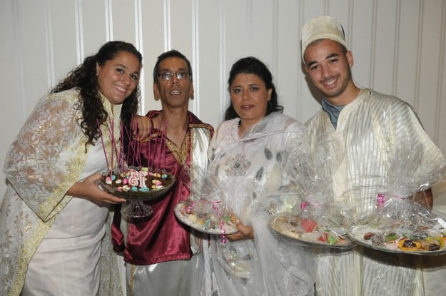 טקס חינה הודי ומרוקאי