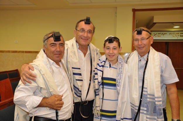 אבי קניגסברג, עומר קניאס, שמואל סיסו ושלמה חזן