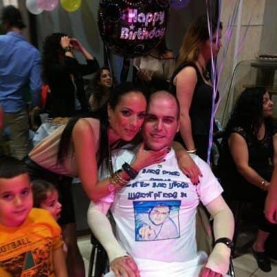 דניאל פאחימה ואחותו אושרת