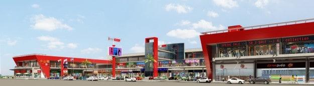 המרכז המסחרי החדש בקרית אתא